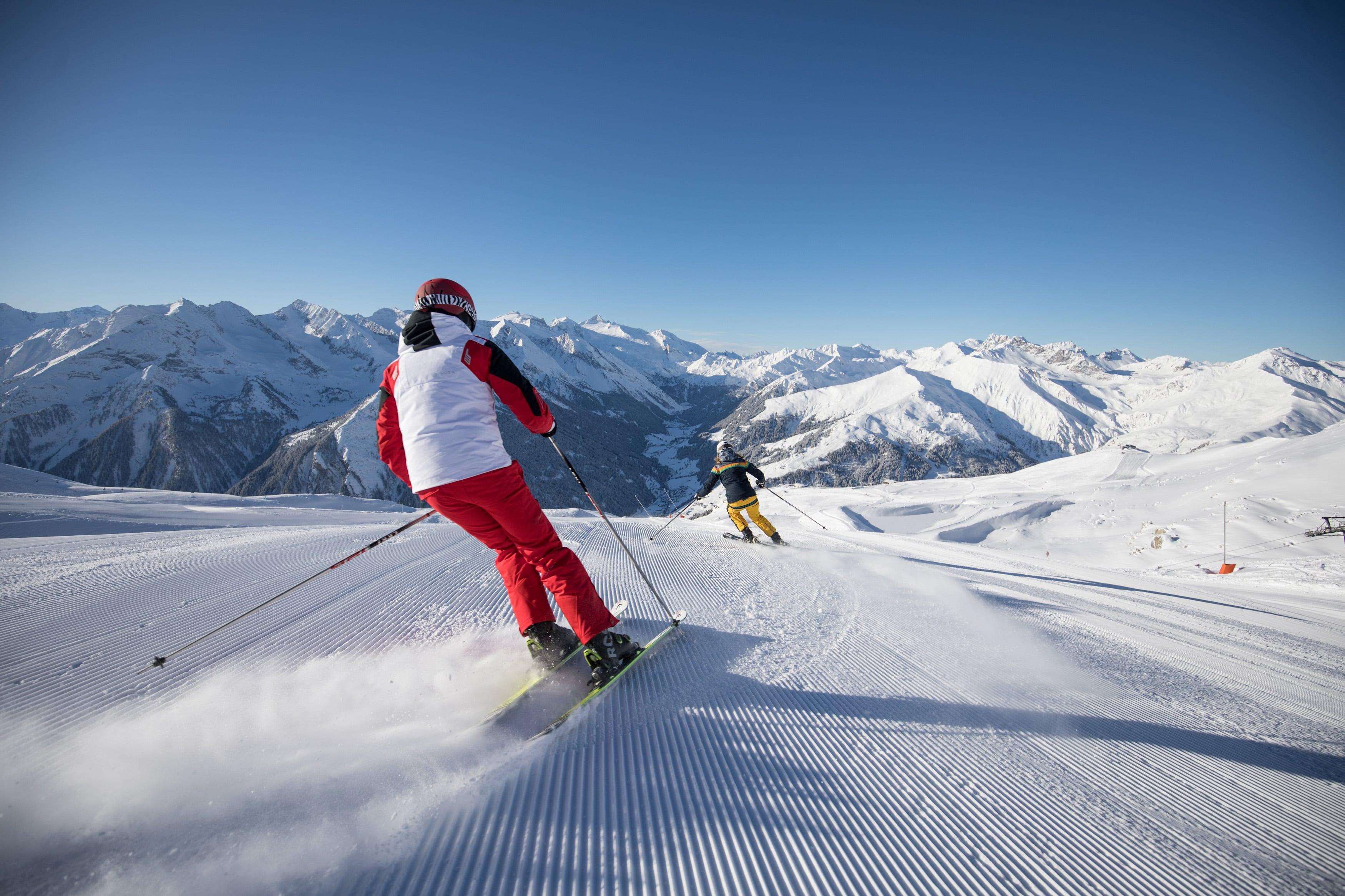 Skifahren in Tux